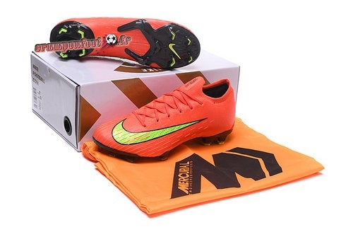 Vente Chaussure Nike Mercurial Superfly VI Elite FG Jaune Orange - Chaussures de Foot