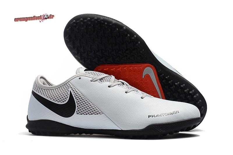 Chaussure Foot Promo - Chaussure Nike Phantom VSN Academy TF Blanc - Chaussures de Foot