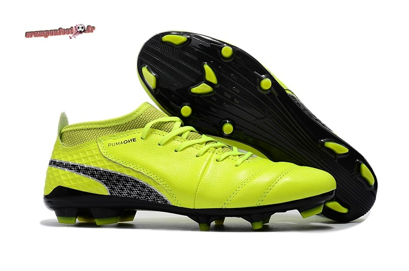 One Syn Fg Personnaliser 1 Puma Jaune 18 Leather Chaussure 3q4L5RjA