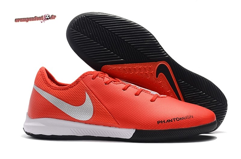 Soldes Chaussure Nike Phantom VSN Academy IC Orange Pas Cher