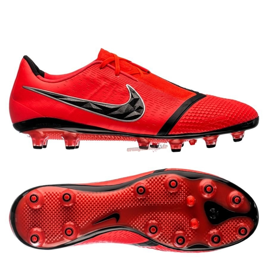 Vente Chaussure Nike Phantom Venom Elite AG PRO Game Over Rouge - Crampon de Foot