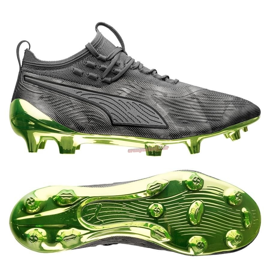 Personnaliser Chaussure Puma One 19.1 SYN FG/AG Alter Reality Gris - Meilleur Chaussures de Foot