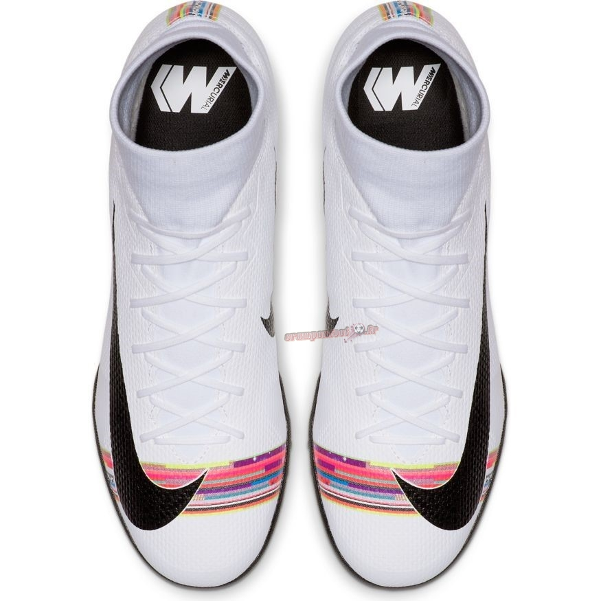Site Crampons Foot - Chaussure Nike Mercurial Superfly 6 Academy TF LVL UP Blanc - Crampon de Foot