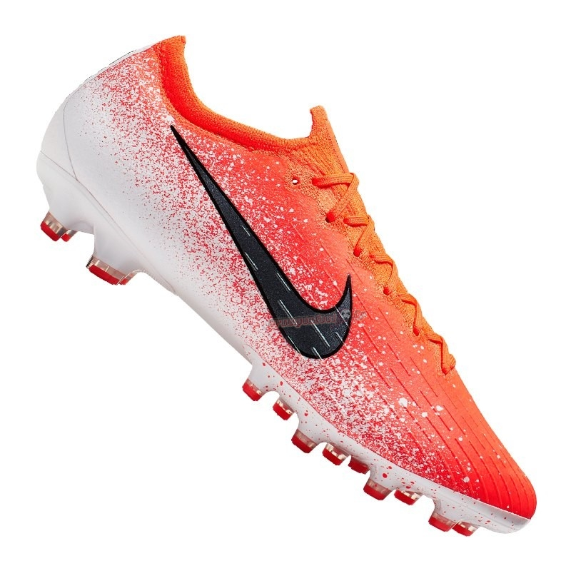 Site Crampons Foot - Chaussure Nike Mercurial Vapor XII Elite AG Pro Orange - Crampon de Foot