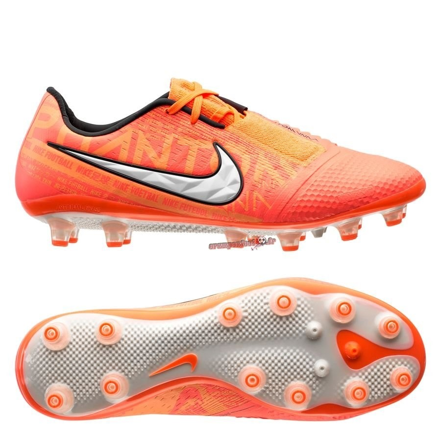 Buy Chaussure Nike Phantom Venom Elite AG PRO Fire Orange - Chaussures de Foot