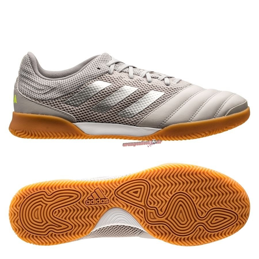 Chaussures de Foot - Chaussure Adidas Copa 20.3 Sala IN Encryption Gris Pas Cher