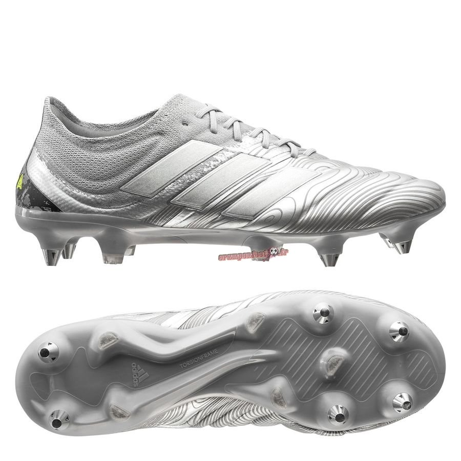 Site Crampons Foot - Chaussure Adidas Copa 20.1 SG Encryption Argent En Solde