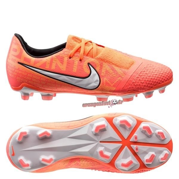 Trouver - Chaussure Nike Phantom Venom Elite FG Fire Orange En Solde