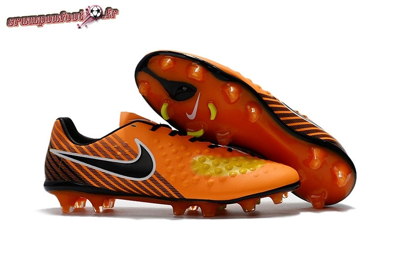 Buy Chaussure Nike Magista Orden II FG Orange Noir En Solde
