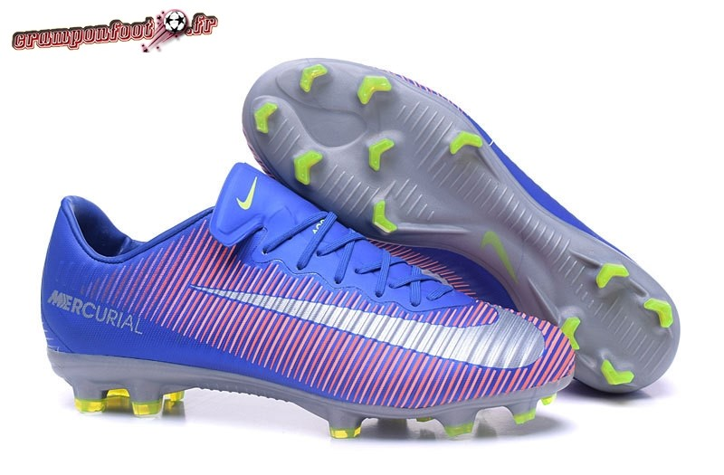 Buy Chaussure Nike Mercurial Superfly V FG Bleu Rose Blanc - Chaussures de Foot