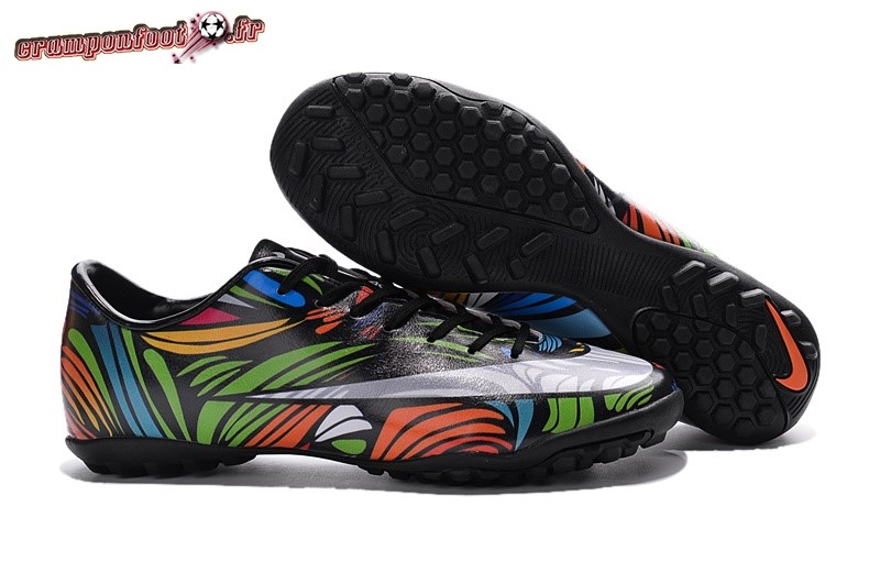 Buy Chaussure Nike Mercurial X Victory TF Multicolore Noir Pas Cher