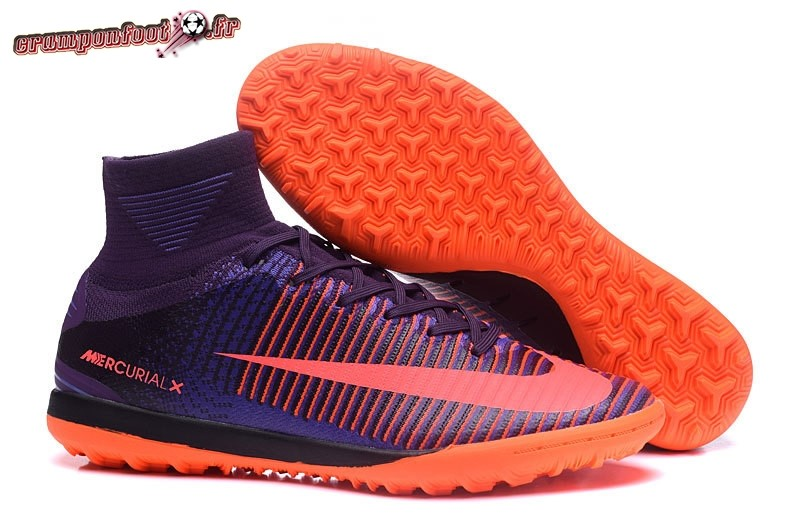 Chaussure Foot Promo - Chaussure Nike MagistaX Proximo II TF Pourpre Orange  En Ligne 1c471b8db556