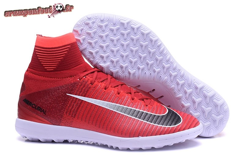 Chaussure Foot Promo - Chaussure Nike MagistaX Proximo II TF Rouge Noir En  Ligne e0352a933757