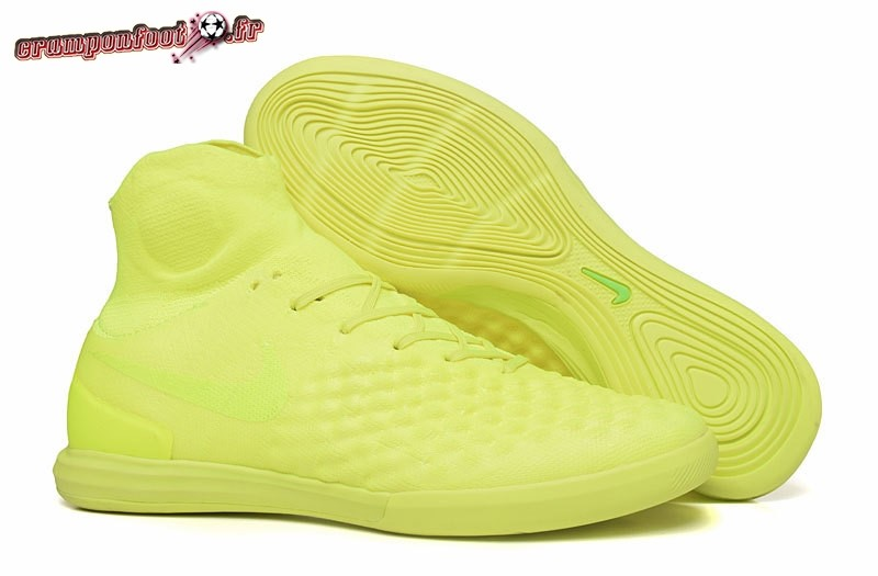 Destockage - Chaussure Nike MagistaX Proximo II INIC Fluorescent Jaune - Crampon  de Foot 594203f152f0