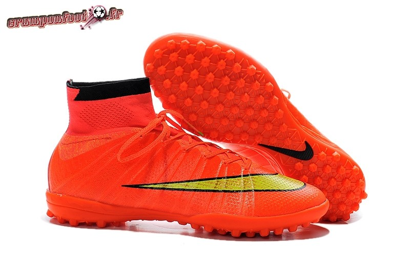Nouvelle Chaussure Nike Elastico Superfly TF Rose Chaussure de Foot Salle