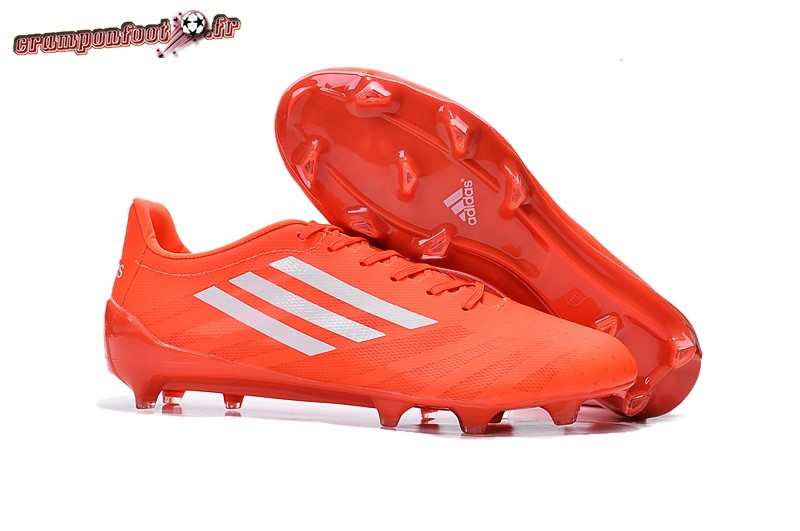 Offres Chaussure Adidas Adizero 99G FG Rouge - Chaussures de Foot