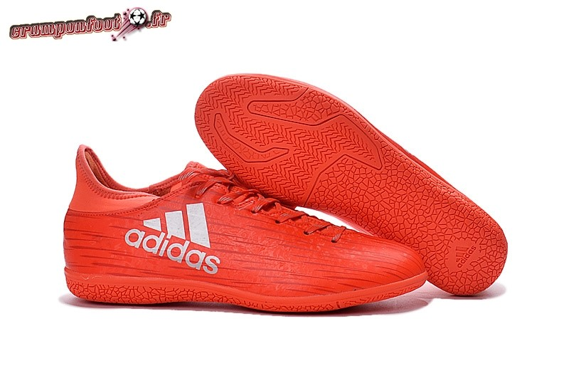 Personnaliser Chaussure Adidas X 16.3 INIC Rouge - Meilleur Chaussures de Foot