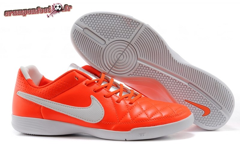 Personnaliser Chaussure Nike Tiempo Mystic V INIC Rouge Blanc - Meilleur Chaussures de Foot