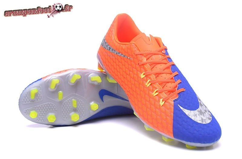 outlet store 0ffb0 03b32 ... Remise Chaussure NIke Hypervenom Phelon III FG Orange - Crampon de Foot  ...