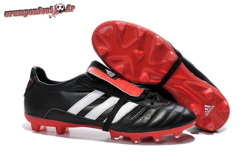 Site Crampons Foot - Chaussure Adidas AdiPure 11Pro IV FG Noir Rouge - Chaussures de Foot