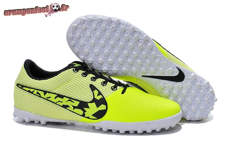 check-out 9fc17 598e3 Site Crampons Foot - Chaussure Nike Elastico Pro III TF Vert ...