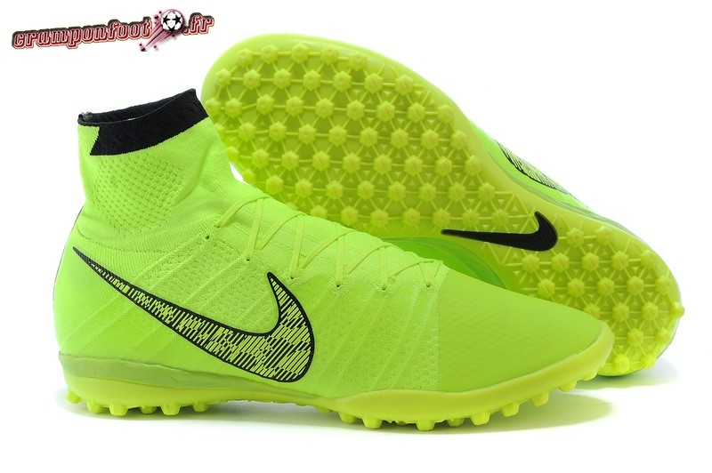 Trouver - Chaussure Nike Elastico Superfly TF Vert Fluorescent En Ligne