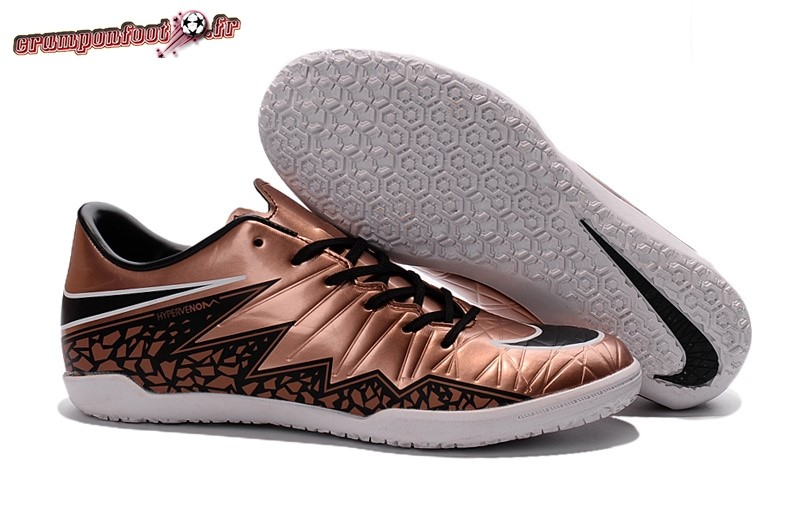 Trouver - Chaussure Nike HyperVenom Phelon II INIC Or En Solde